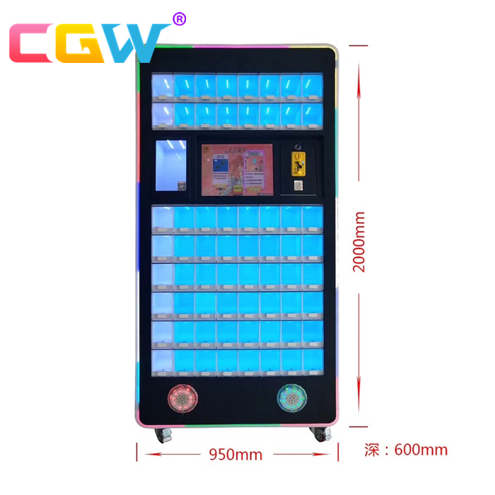 CGW lipstick vending machine,claw crane game machine,lipstick toy crane game machine for sale