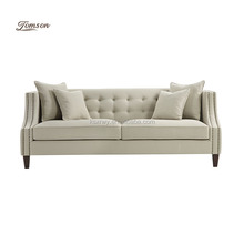 Living room premium big neoclassic Contemporary fabric sofa seat furniture for heavy people bedroom restaurant sofas