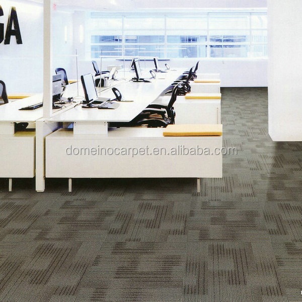 Blue and Grey Carpet Tiles for Office