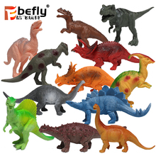 12pcs Kids educational gift assorted dinosaur toy for collection