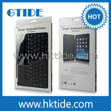 China top ten selling products ultra thin metal cover magnetic clip keyboard wireless bluetooth 3.0 for ipad air