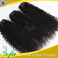 Hot sale afro remy cambodian kinky curly hair weaves