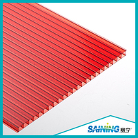 factory selling greenhouse roof panels hollow polycarbonate sheet for roofing greenhouse,twin wall polycarbonate sheets
