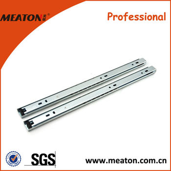 Hot sale!! 18 years factory ball bearing half extension drawer slide