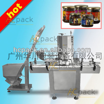 HCXG-40B Full-automatic Glass Bottle Vacuum Capping Capping machine