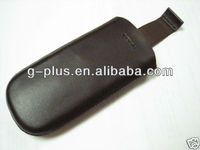 Black CP-212 Genuine Leather Carrying Case Pouch for Nokia 8800 Arte Sirocco