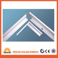 solar panel parts aluminum extrusion solar panel frame