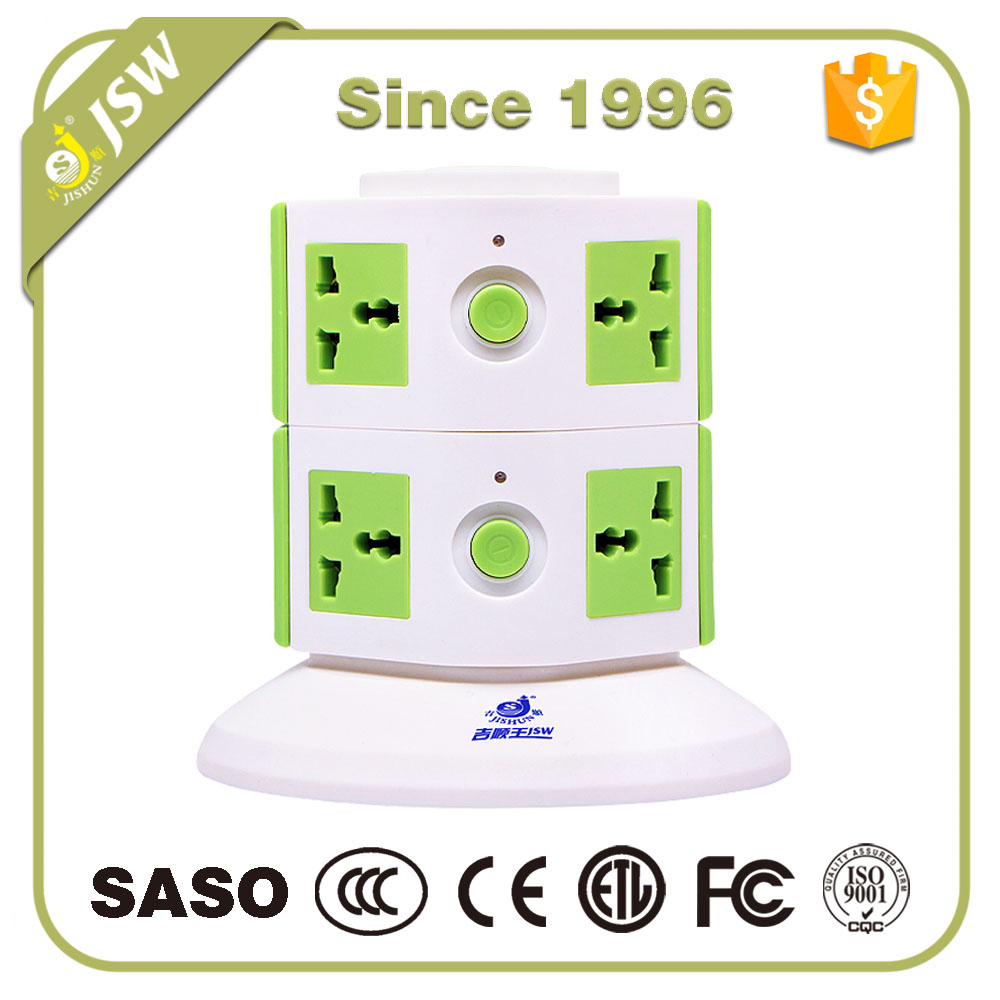 Intelligent electrical outlet power extension socket power multiple strip 230 volt