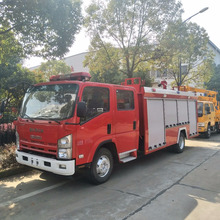 Japanese Fire Fighting Engine Foam water size of fire truck