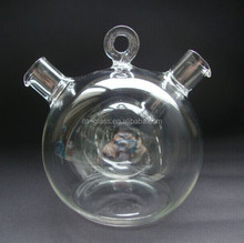 fashionable ball shape cooking kitchenware borosilicate glass oil and vinegar bottle/cruet,oil dispenser