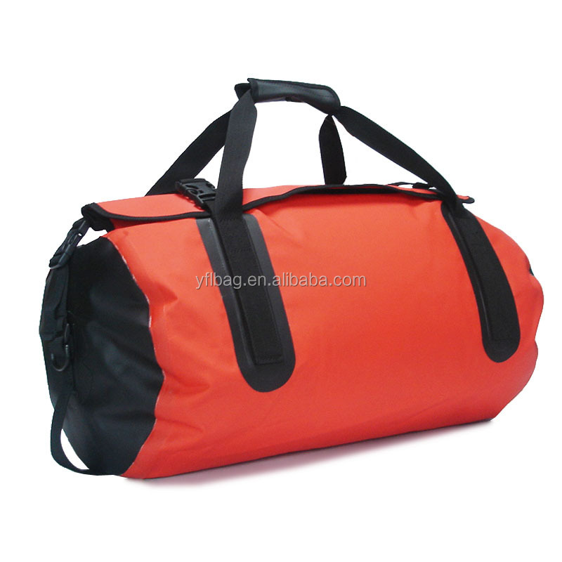 45l pvc travel duffle bag waterproof