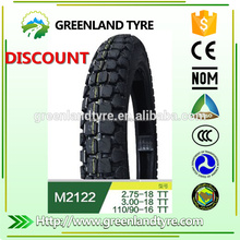 Made in thailand products wholesale used tires for export dirt bike tires