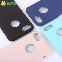Ultra Thin Liquid Silicone Phone Case ShockProof Mobile Phone Case for Iphone 7 Case