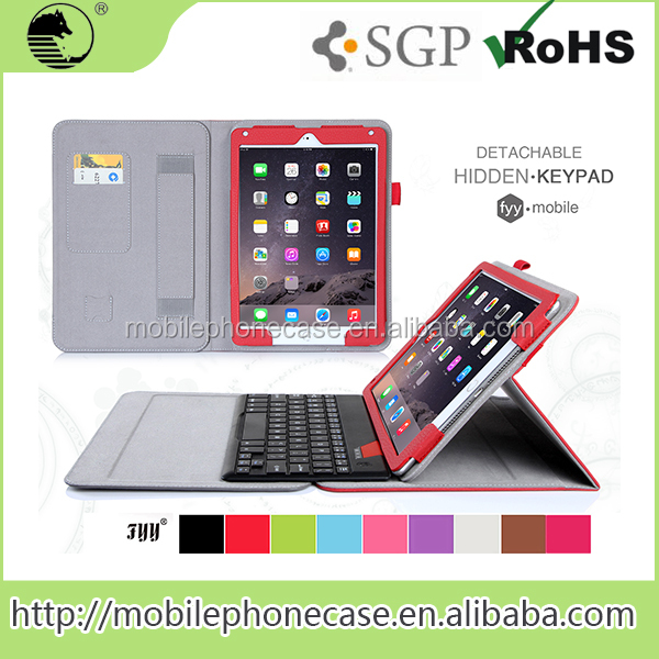 Good Quality China Supplier Leather Case With Keyboard For 9.7 Inch Tablet Pc