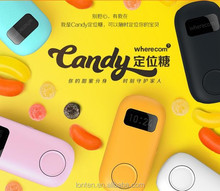 Candy positioning sugar GPS locator The old man child orientation of children pet tracking