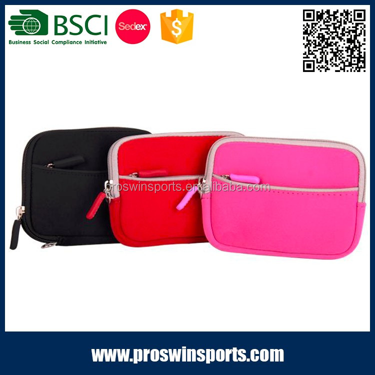 OEM fashionable waterproof pink neoprene digital video camera bag