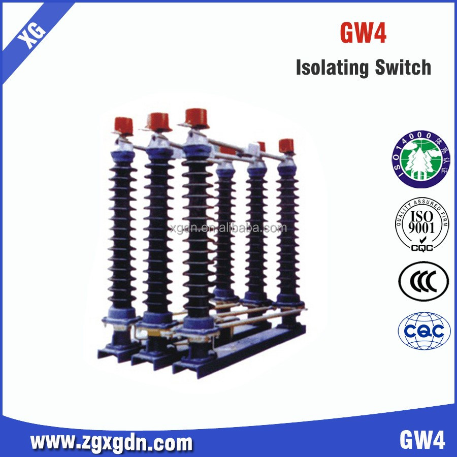 132kv High Voltage Ac 3 Pole Outdoor Disconnect Switch Manufacturer