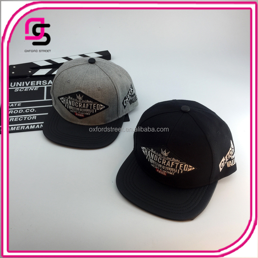 Wholesale hot selling baseball cap embroidery patch letter peaked cap sport hats
