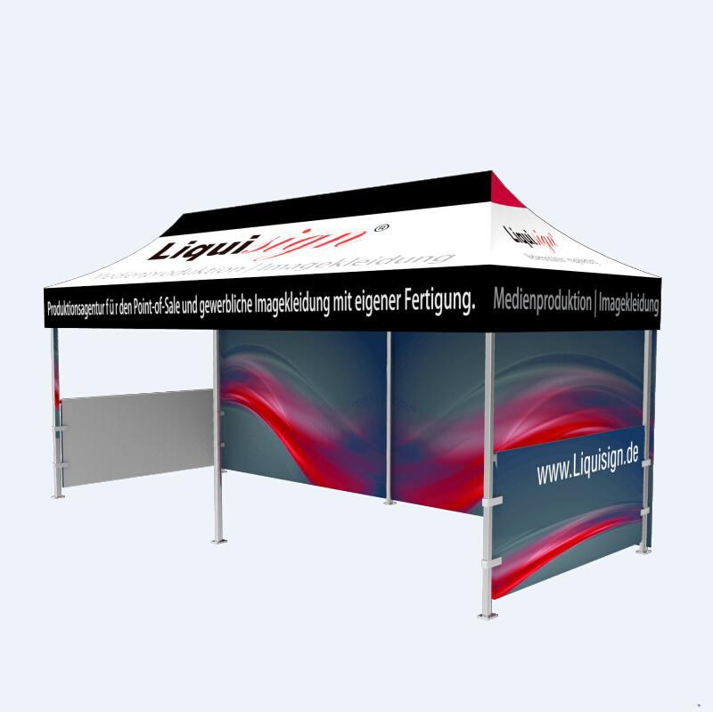 Heat tansfer printing Outdoor 30 Person Big pop up Tents for Weddings, trade show and event