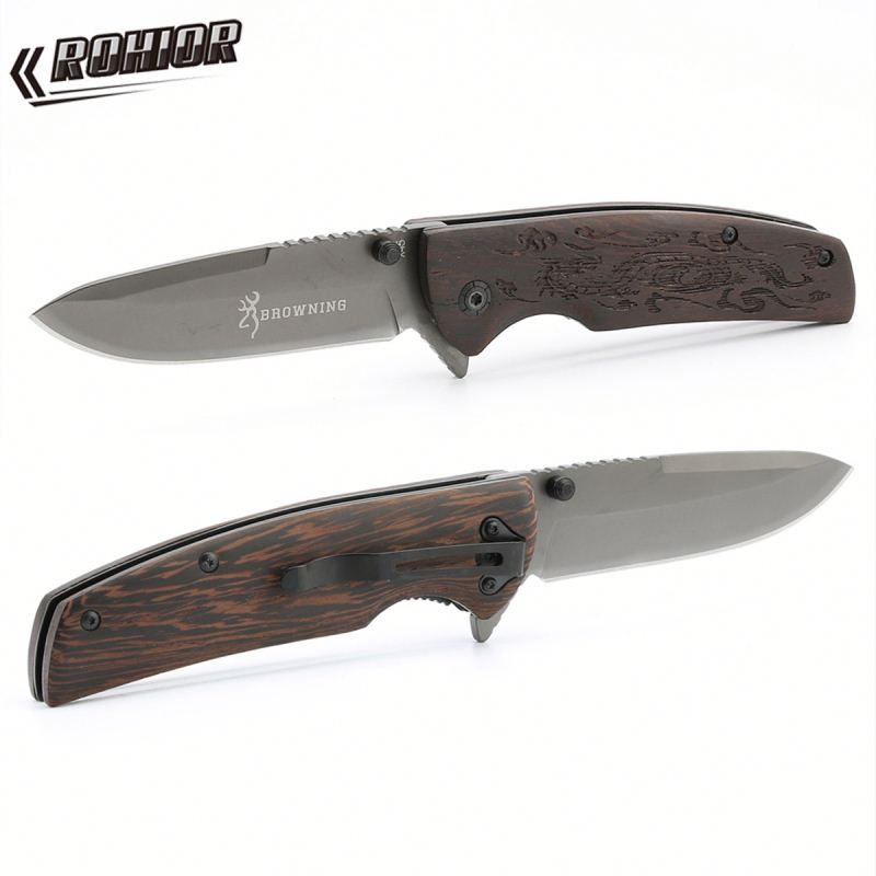 Browning X45 Survival camping pocket tool <strong>knife</strong> hunting utility Tactical folding outdoors combat <strong>knives</strong>