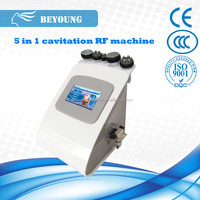 RS08B kim 8 new cavitation rf vacuum slimming fat removal machine beauty salon equipment