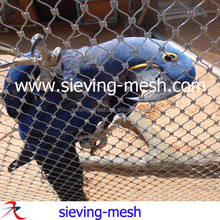 Stainless steel bird cage wire mesh/rope wire mesh cage