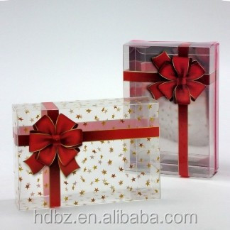 Customized Plastic Gift Packaging Box
