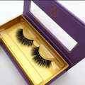 wholesale private label magnet packaging 3d lashes glitter custom eyelash packaging