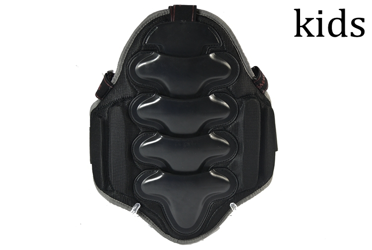 ski back protector for wasit and back support for kids and youth