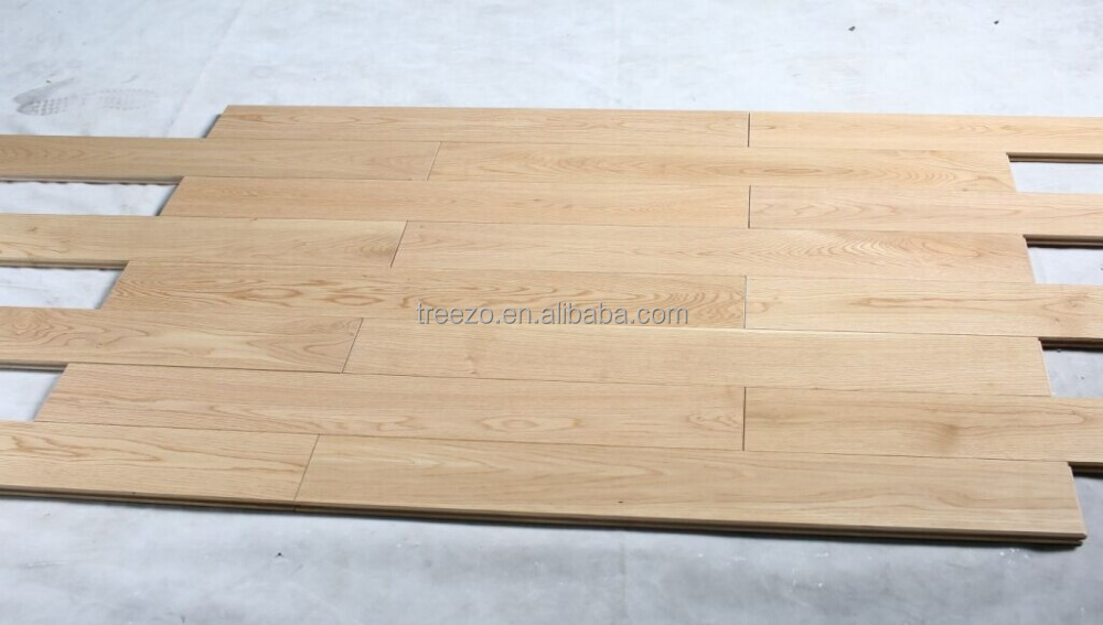 Russian oak engineered wood flooring wide plank factory supply T&G