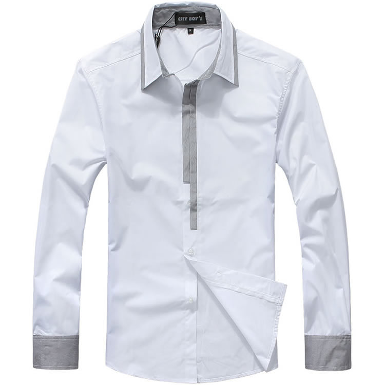 New <strong>shirt</strong> high quality men <strong>shirt</strong> camisas camisa masculina men casual -<strong>shirt</strong> 2color5size simple