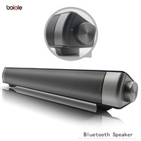 High quality Soundbar Wireless Bluetooth Subwoofer Speaker 10W for iPhone and Other Mobile