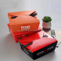 Disposable Takeaway Custom Logo Printed Paper