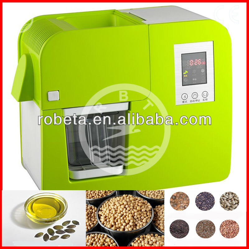 Convenient home oil extractor/mini oil press machine/small oil mill machine