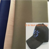 fashion dyed 3d air mesh 100% poly hat fabric