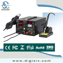 220V/110V EU/US PLUG 3 in 1 Hot air gun rework station YIHUA 853D Soldering station power supply soldering