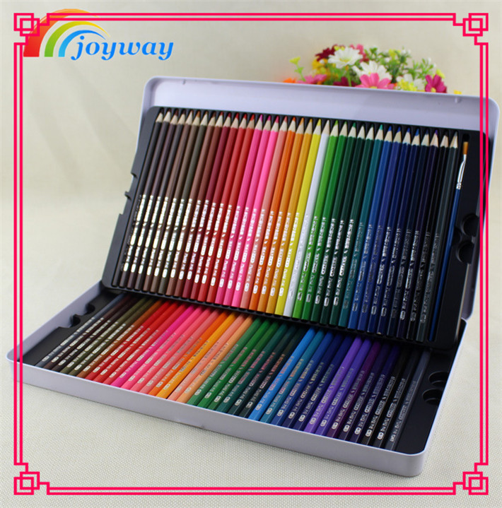 72colors High Quality <strong>Water</strong> Soluble Lead Colored Pencil Art Drawing set