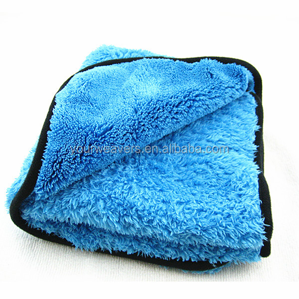 16x24inches Extra Fluffy Quick Detail Towel Microfiber Cleaning Cloth