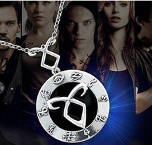 Hot Film of Bones Necklace The Mortal Instruments Angelic Power Pendant Necklace