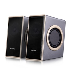 USB 2.0 portable laptop wired speaker stereo bass multimedia speaker mini desktop computer speaker for play music