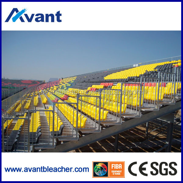 Sundon world soccer cup,summer olympic games big sports event I beam aluminum bleacher,sports event bleacher