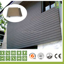wood plastic composite wall siding for prefabricated houses