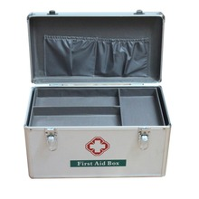 Hot Sale Medical Basic First Aid Kit Cabinet Box Contents Item For School
