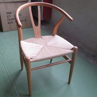 Fashion Paper Rope Chair Beech Wood Chair