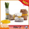 RENJIA strap for banding kitchen silicone food wrap silicone Elastic Bands