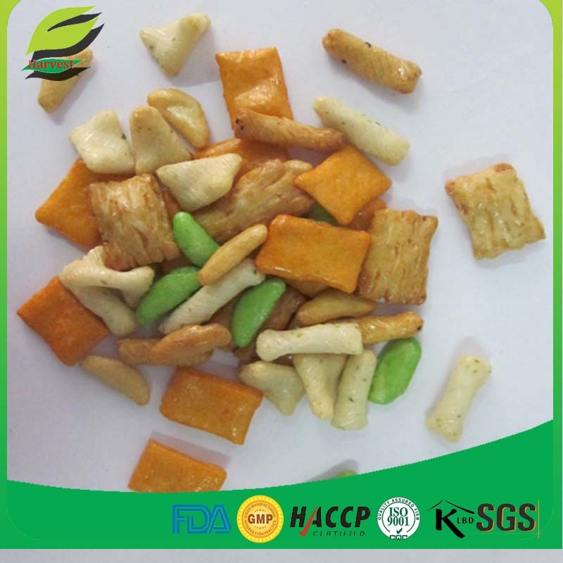 good quality japanese snacks mixed rice crackers cheap price