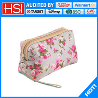 nylon handle ripstop personalized cosmetic bag