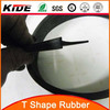 T type new products EPDM/silicone extrusions extruded rubber seals auto parts