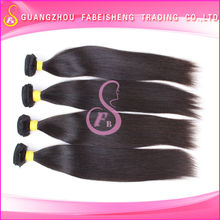 Amazing 7A very high quality virgin human wefts natural straight brazilian top human crochet hair nets