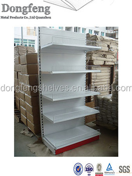 high quality metal supermarket display shelf lay Shelf